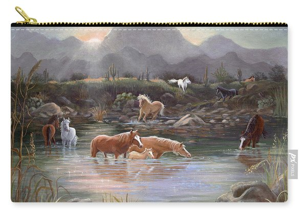 Salt River Sunrise Carry-all Pouch