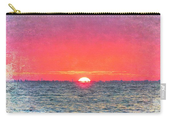Salty Sunrise Carry-all Pouch