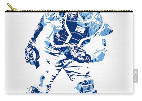 Salvador Perez Kansas City Royals Pixel Art 2 Carry-all Pouch
