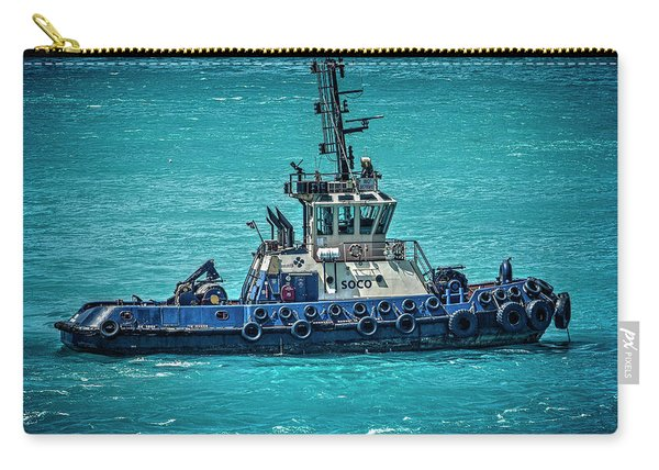 Salvage Tug Boat Carry-all Pouch