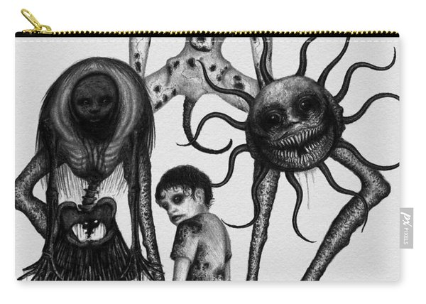 Sammy And Friends - Artwork Carry-all Pouch