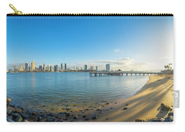 San Diego Bay - Panorama Carry-all Pouch
