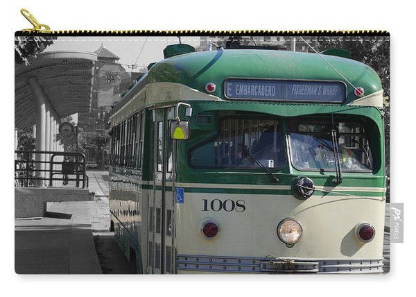 San Francisco - The E Line Car 1008 Carry-all Pouch