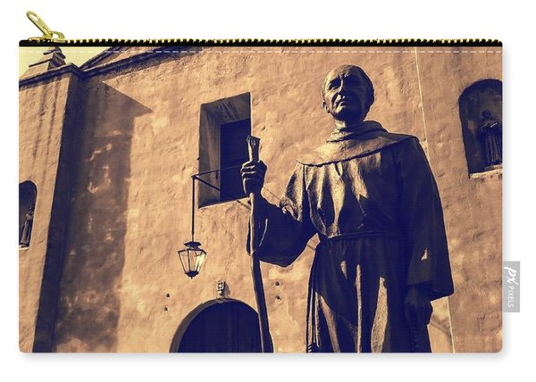 San Gabriel Valley Mission By Richard Cuevas  Carry-all Pouch