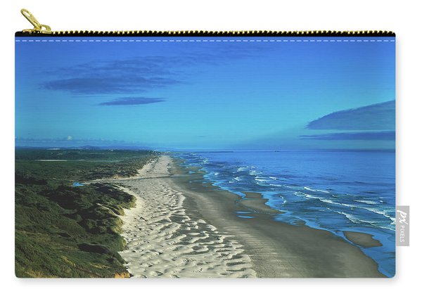Sand Dunes Along The Oregon Coastline Carry-all Pouch