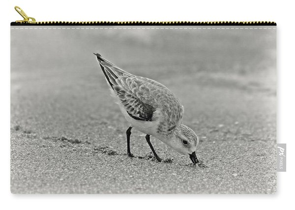 Sanderling Foraging For Food Carry-all Pouch