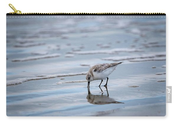 Sanderling Foraging Carry-all Pouch
