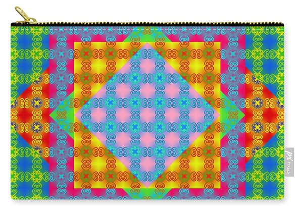Sankofa Kaleidoscope Prime 1 Carry-all Pouch