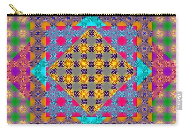 Sankofa Kaleidoscope Prime 2 Carry-all Pouch