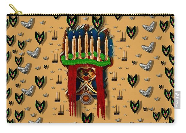 Sankta Lucia With Love And Candles In The Silent Night Carry-all Pouch