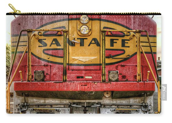 Santa Fe Train Engine Carry-all Pouch