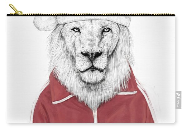 Santa Lion  Carry-all Pouch