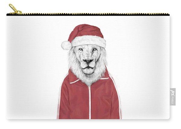 Santa Lion  Carry-all Pouch