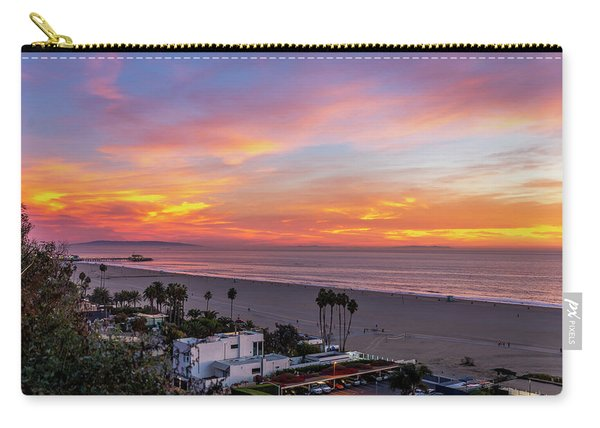 Santa Monica Pier Sunset - 11.1.18  Carry-all Pouch