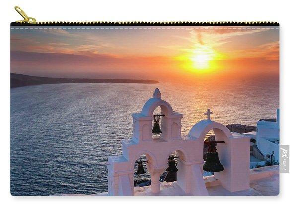Santorini Sunset Carry-all Pouch