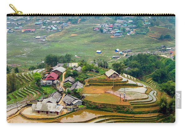 Sapa, Vietnam Landscape Carry-all Pouch
