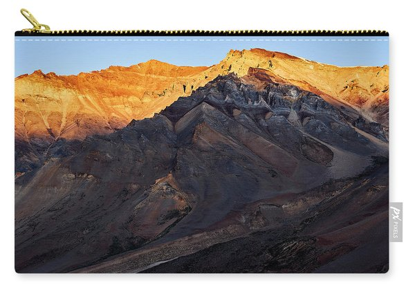 Carry-all Pouch featuring the photograph Sarchu Sunrise by Whitney Goodey