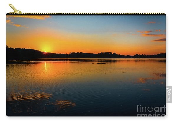 Savannah River Sunrise - Augusta Ga Carry-all Pouch