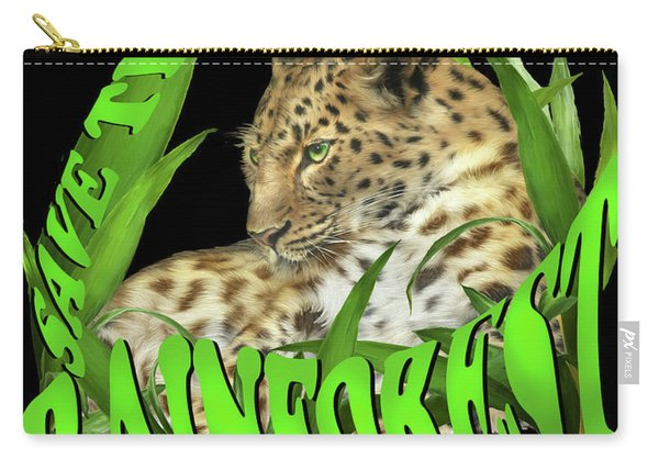 Save The Rainforest Carry-all Pouch
