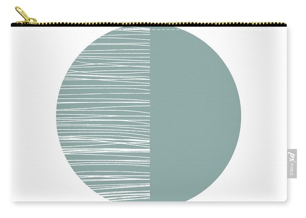 Scandi Moon 2- Art By Linda Woods Carry-all Pouch