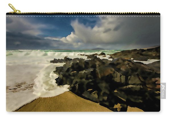 Scarista Beach Digital Painting Carry-all Pouch