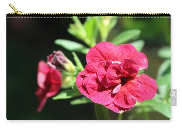 Scarlet Geranium In Cape May Carry-all Pouch