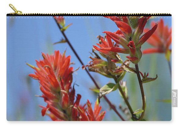 Scarlet Indian Paintbrush At Mount St. Helens National Volcanic  Carry-all Pouch