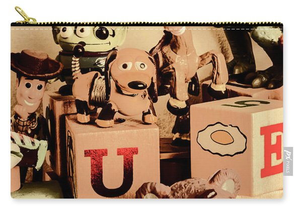 Scene From A Nostalgic Comic Carry-all Pouch