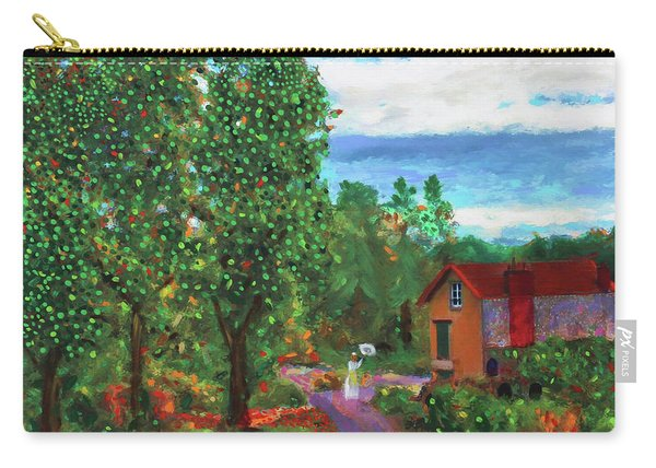Scene From Giverny Carry-all Pouch