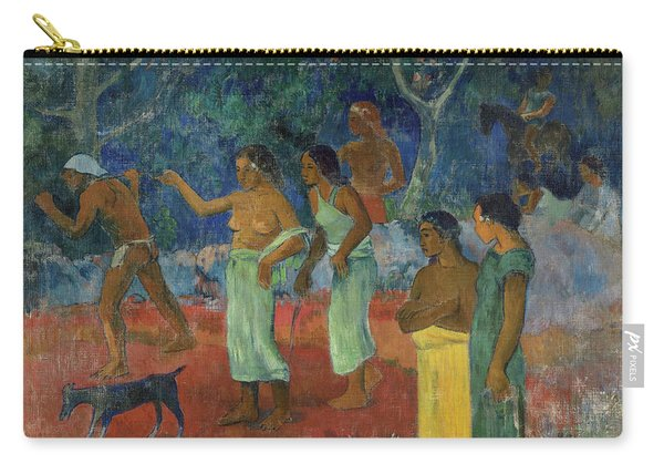 Scene From Tahitian Life, 1896 Carry-all Pouch