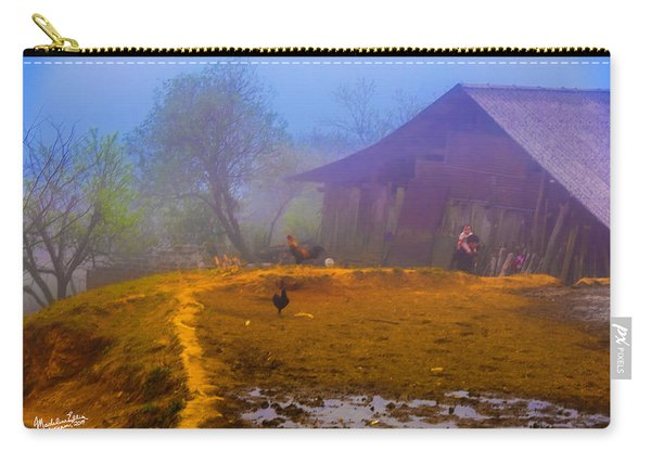 Scene On A Hill - Sapa, Vietnam  Carry-all Pouch