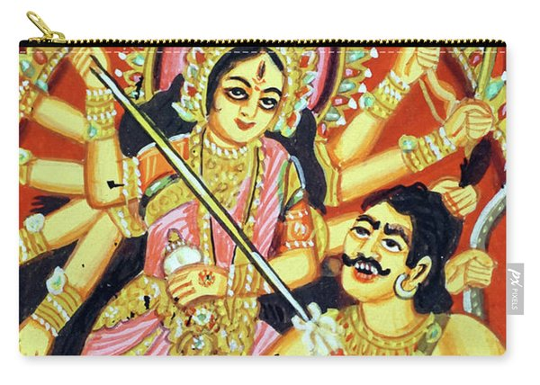 Scenes From The Ramayana Carry-all Pouch
