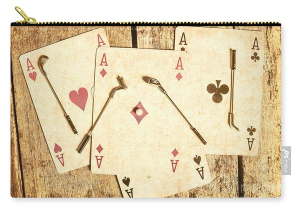 Scorecard Of Aces Carry-all Pouch