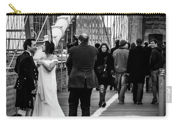 Scottish Wedding Couple Carry-all Pouch