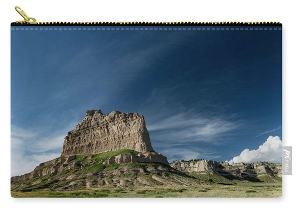Scottsbluff National Monument In Nebraska Panorama Carry-all Pouch
