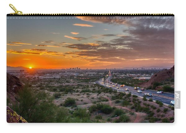 Scottsdale Sunset Carry-all Pouch