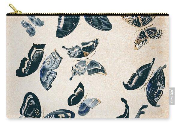 Scrapbook Butterflies Carry-all Pouch