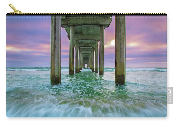 Scripps Pier Wave Carry-all Pouch