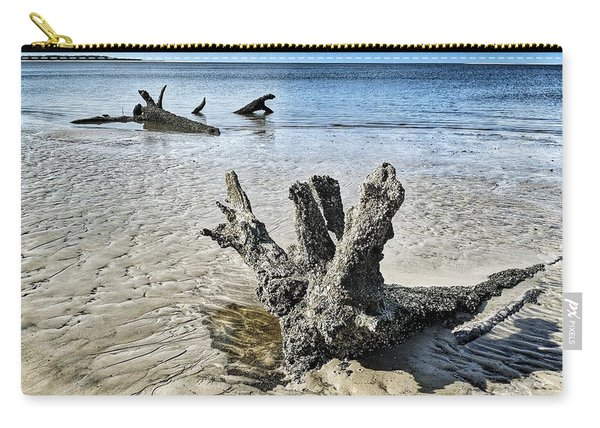 Sculpted By The Sea Carry-all Pouch