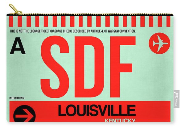 Sdf Louisville Luggage Tag I Carry-all Pouch