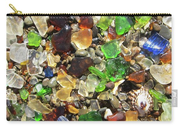 Sea Glass Carry-all Pouch
