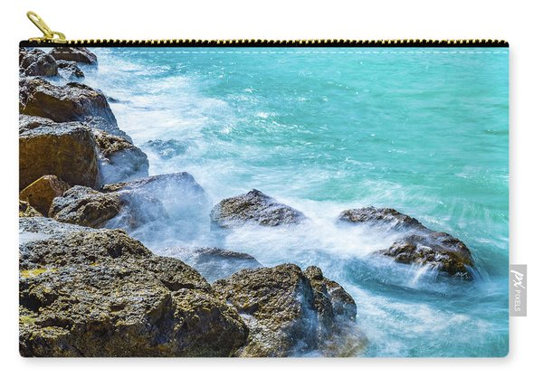 Sea Rocks In Montego Bay Carry-all Pouch