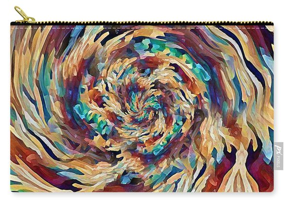 Sea Salad Swirl Carry-all Pouch