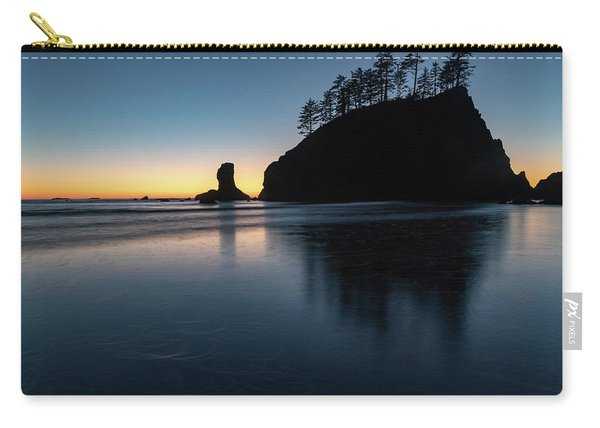 Sea Stack Silhouette Carry-all Pouch