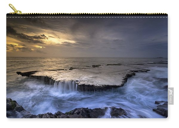 Sea Waterfalls Carry-all Pouch