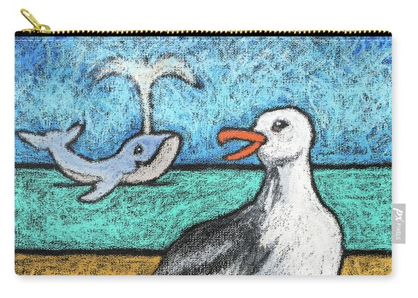 Seagull And Friends Carry-all Pouch