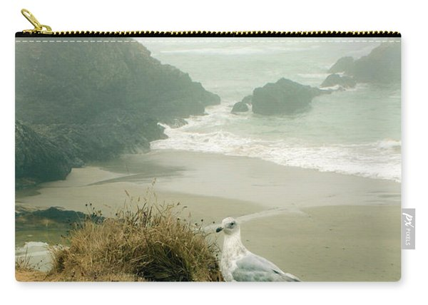 Seagull By The Sea Carry-all Pouch