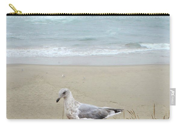Seagull By The Seashore Carry-all Pouch