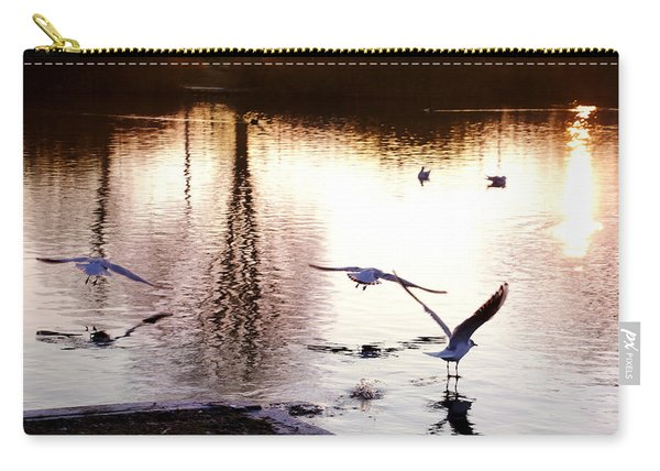 Seagulls In The Morning Carry-all Pouch