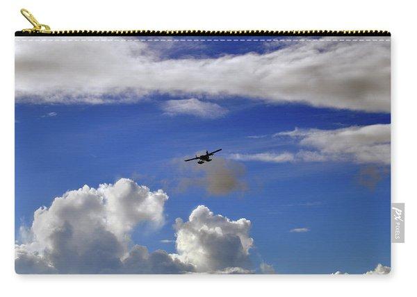 Seaplane Skyline Carry-all Pouch